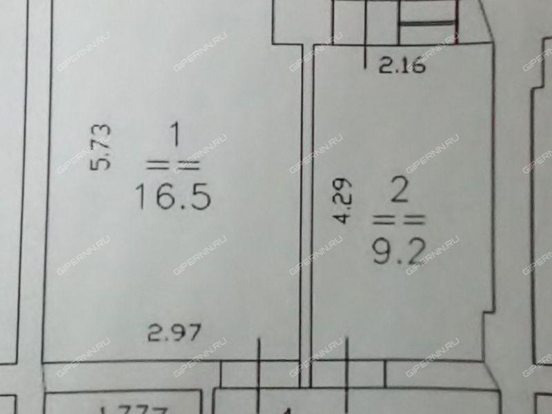 однокомнатная квартира на улице Куйбышева дом 69