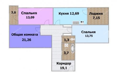 3-komnatnaya-ul-zhukova-mezhdu-domami-N8-i-N10 фото