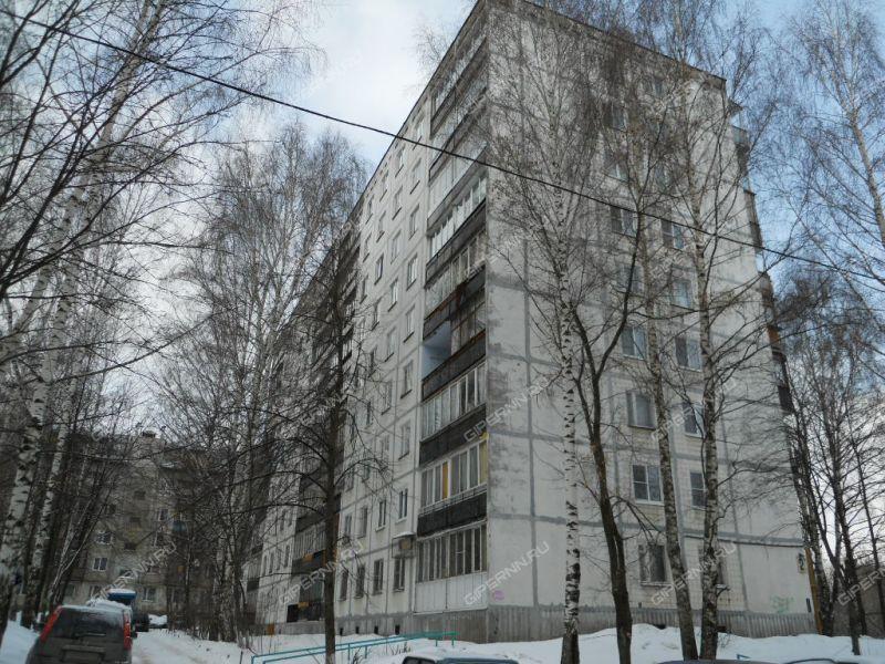 двухкомнатная квартира на улице Героя Быкова дом 2