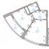 квартира-студия на Лысогорской улице дом 89 к3