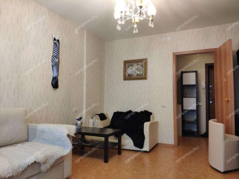 однокомнатная квартира на улице Академика Сахарова дом 117